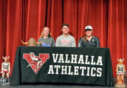 Valhalla college sports commitments