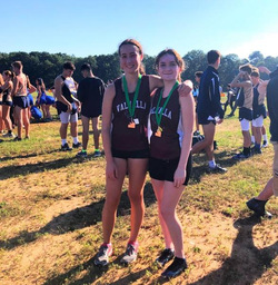 Two Juniors Medal in Grand Cross Country 5K Race