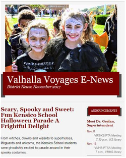 "Valhalla Wins Top State Communications Awards for ""E-News"""
