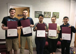 VHS Announces October's Students of the Month