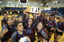 Varsity Volleyball Team Wins Sectional Title