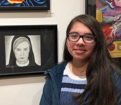 Three VHS Artists Display Work in Professional Gallery