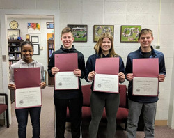 VHS Announces December's Students of the Month