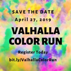 SAVE THE DATE: Valhalla's Color Run!