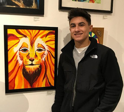 Ten VHS Students Show Work at Professional Katonah Museum of Art Exhibit