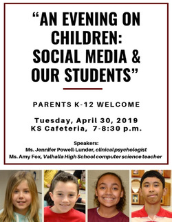 "RSVP: ""An Evening on Children: Social Media & Our Students"""