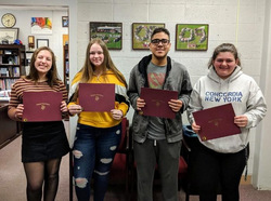 VHS Announces March's Students of the Month