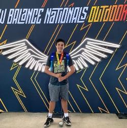 VHS Junior Wins Hammer Throw, VMS Athlete Competes at Track Nationals