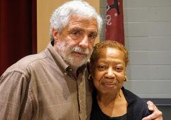 Board members Michael Doran and LaVerne Clark