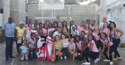 Valhalla students on Colombia trip